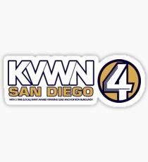 KVWN San Diego (Outlined) Sticker