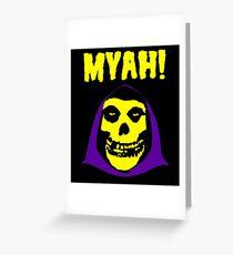 Skeletor-Misfits Composite Greeting Card