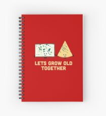 Character Building - Smelly cheese Spiral Notebook