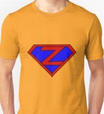 Hero, Heroine, Superhero, Initials,  Z Unisex T-Shirt