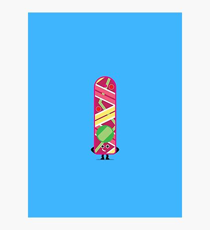 Character Building - Hoverboard Photographic Print