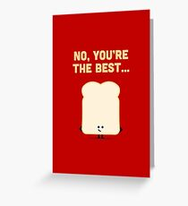 Character Building - Sliced Bread Greeting Card
