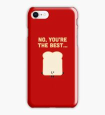 Character Building - Sliced Bread iPhone Case/Skin