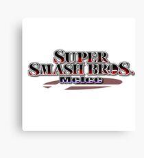 Super Smash Bros Melee Canvas Print