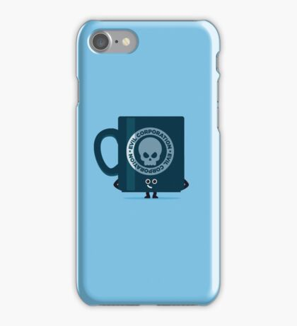 Character Building - Evil Coffee iPhone Case/Skin