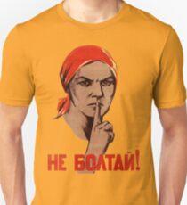 Sowjetischer Verrat Poster Unisex T-Shirt