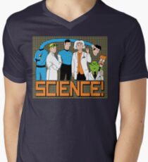 SCIENCE! Mens V-Neck T-Shirt