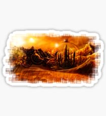 Doctor Who - Gallifrey & Doctor's Name Sticker