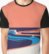 Lyme Regis - The Cobb Graphic T-Shirt