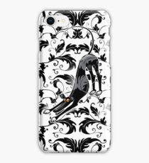 Arts & Crafts Bowdown Hound iPhone Case/Skin