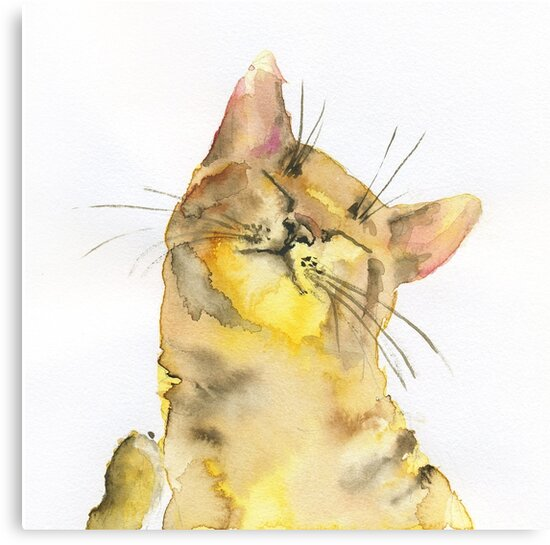 Yellow Cat by Art-istka