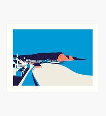 Sidmouth Seascape Art Print