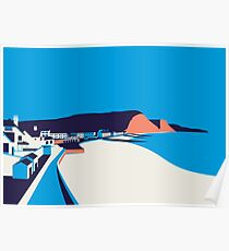 Sidmouth Seascape Poster