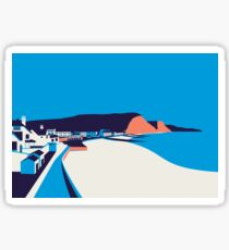 Sidmouth Seascape Sticker