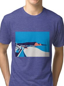 Sidmouth Seascape Tri-blend T-Shirt