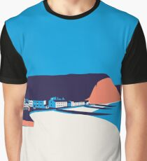Sidmouth Seascape Graphic T-Shirt