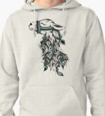 Poetic Llama  Pullover Hoodie