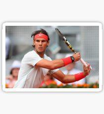 Rafael Nadal Forehand Sticker