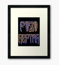 FOZO REPTAR Framed Print