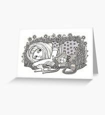Alice (The Book with No Pictures) Greeting Card