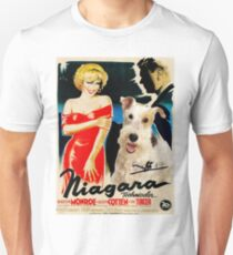 Wire Fox Terrier Art - Niagara Movie Poster Unisex T-Shirt
