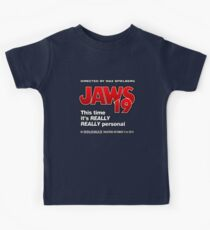 Jaws 19 - This time it's really really personal (Back to the Future) Kids Tee