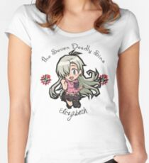 Chibi Elizabeth Women's Fitted Scoop T-Shirt