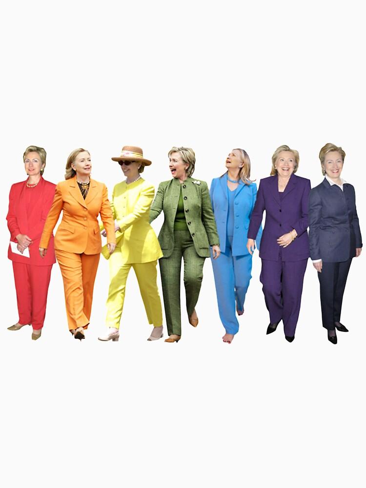 Hillary Clinton Pantsuit by wheresbolivia