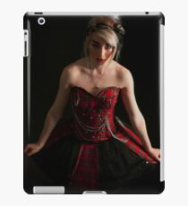 Punk rock chick 2 iPad Case/Skin