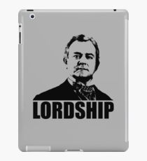Downton Abbey Lordship Robert Crawley Tshirt iPad Case/Skin