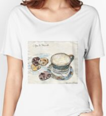 Coffee & Biscuits Women's Relaxed Fit T-Shirt