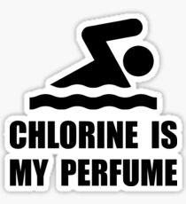 Chlorine Perfume Sticker