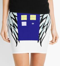The Angels Have The Phone Box Mini Skirt