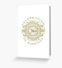 50th wedding anniversary greeting cards redbubble 50th wedding anniversary greeting card m4hsunfo