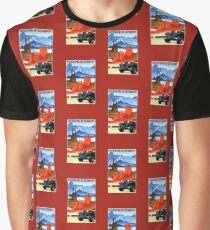 Vintage car travel Germany advert Graphic T-Shirt