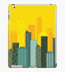 city skyline buildings vector iPad Case/Skin