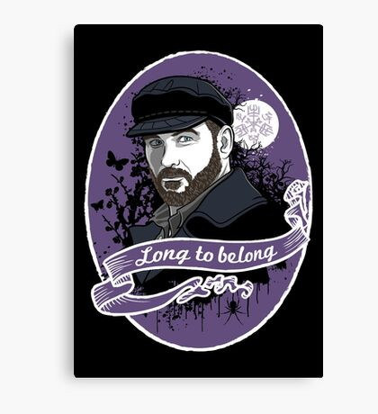 Long to belong Canvas Print