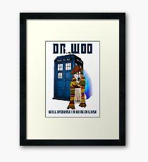 Dr woo  Framed Print