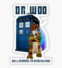 Dr woo  Sticker