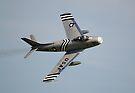 F-86 Sabre by Nigel Bangert