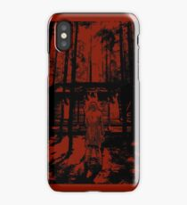 A Cabin In The Woods iPhone Case/Skin