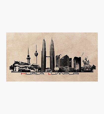 Kuala Lumpur skyline Photographic Print