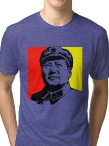 CHAIRMAN MAO Tri-blend T-Shirt