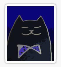 Cat in the Tux Sticker