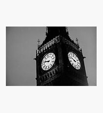 Big Ben Black and White Photographic Print