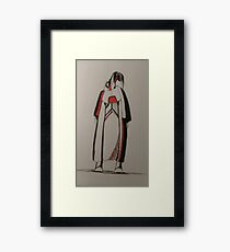 smart fit Framed Print