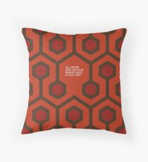 All work and no play makes Jake a dull boy Throw Pillow
