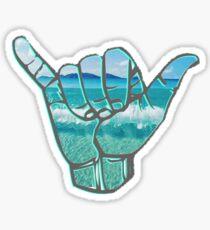 Beach Hangloose Sticker Sticker