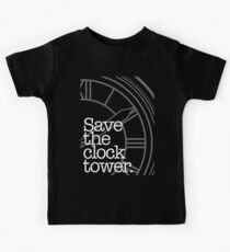 Save The Clock Tower. Kids Tee
