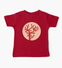 Red coral Baby Tee